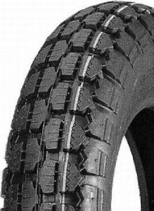 400-8 4PR/54M TT HF205 Duro Block HD Tyre (H S Rated for Trailers) (480/400-8)