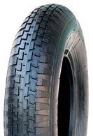 300-8 4PR TT Goodtime V6635 Universal Block Barrow Tyre (13x3)