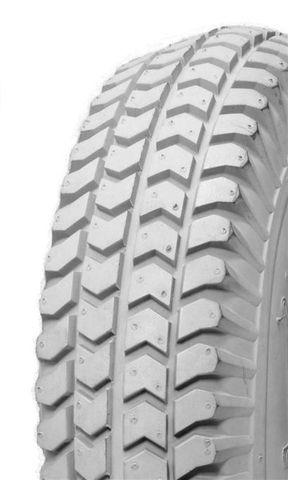 300-4 4PR TT IA2805 Innova Grey Turf Wheelchair / Mobility Tyre (10x3) (260x85)