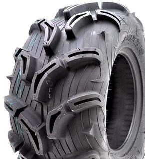 25/10-12 6PR TL MU02+ Maxxis Zilla Directional Rear ATV Tyre - 30mm Deep Tread