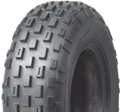 23.5/8-11 2PR TL Journey P321 Knobbly Front Steer ATV Tyre