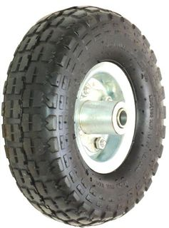 With 410/350-4 Block Tyre