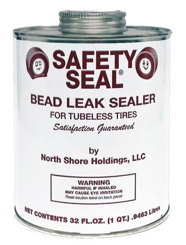 1L Tin Safety Seal Bead Leak Sealer with brush - 32oz, 946ml