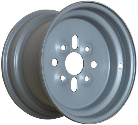 "11""x6.50"" Steel ATV Rim (Front), 4/110mm PCD, ET+15 (fits TRX 300 2WD 1988-1991)"