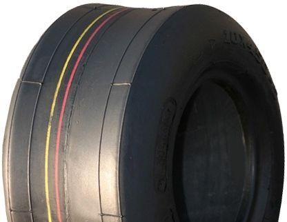 """ASSEMBLY - 4""""x2.00"""" 2-Pc Zinc Coated Rim, 9/350-4 Solid Smooth Tyre, ¾"""" Fl Brgs"""