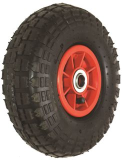 With 410/350-4 4PR Block Tyre