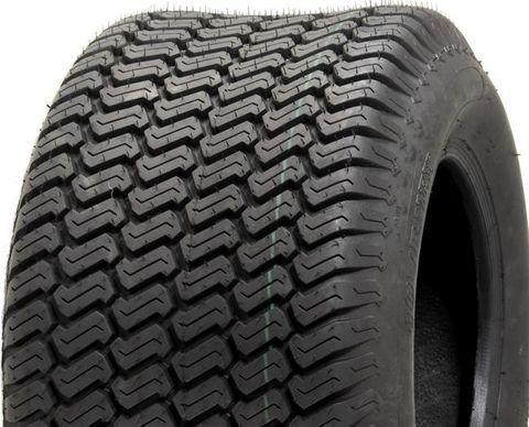 "ASSEMBLY - 10""x6.00"" Galv Rim, 4/4"" PCD, 18/850-10 6PR P332 S-Block Turf Tyre"