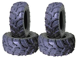 COMBO (2x ea) - 24/8-12 MU01 & 24/10-11 MU02 6PR Maxxis Zilla ATV Tyres