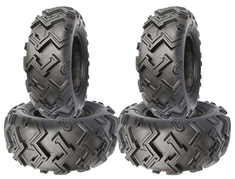 COMBO (2x ea) - 24/8-12 & 24/9-11 4PR TL P306 Journey Excavator ATV Tyres