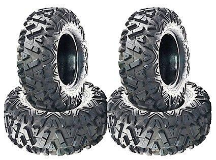 COMBO (2x ea) - 24/8-12 & 24/10-11 6PR A033 Sun.F Power I Utility ATV Tyres