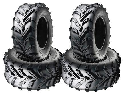 COMBO (2x ea) - 25/8-12 & 25/10-12 6PR TL A024 Sun.F Boartrax ATV Tyres