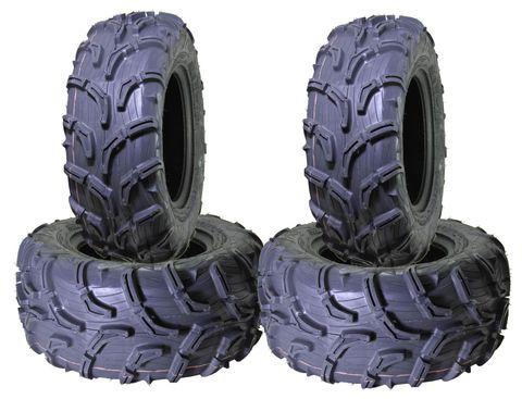 COMBO (2x ea) - 25/8-12 MU01 & 25/10-12 MU02 6PR Maxxis Zilla ATV Tyres