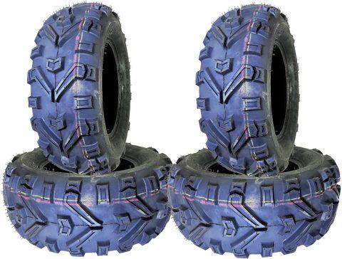 COMBO (2x ea) - 26/8R12 & 26/11R12 6PR TL DI2010 Duro Buffalo Radial ATV Tyres