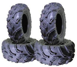 COMBO (2x ea) - 26/9-14 MU01+ & 26/11-14 MU02+ 6PR Maxxis Zilla ATV Tyres