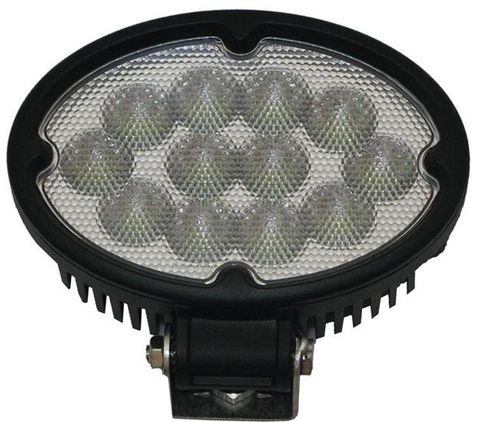 36W Narrow Flood Beam LED Oval Work Light