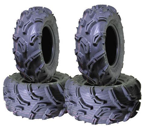 COMBO (2x ea) - 25/8-12 MU01+ & 25/10-12 MU02+ 6PR Maxxis Zilla ATV Tyres