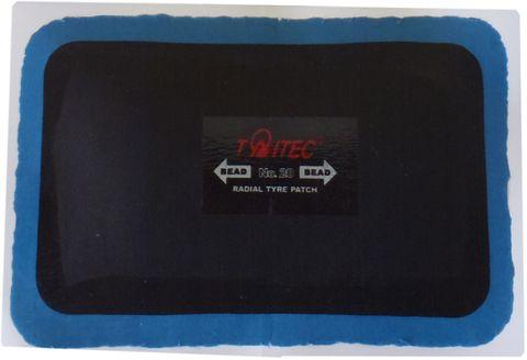 BOX OF 10 - 125x80mm Taitec Rectangular Radial Tyre Repair Patch, 1-ply, TNRE-14