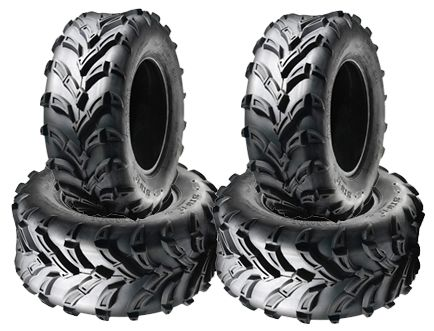 BUNDLE (4x) - 25/10-12 6PR/70J TL A024 Sun.F Boartrax Directional ATV Tyres