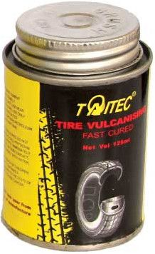 Taitec Tire Vulcanising Fast Cured (glue),125ml,fast cure,fast dry - TW-9125