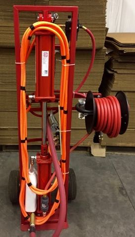 Monster Seal Tyre Sealant Pneumatic Injection Pump System
