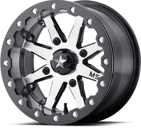 "15""x7.00"" Alloy Rim, 4/156mm PCD, P0 M21 LOK, Beadlock Wheel, fits Polaris RZR"
