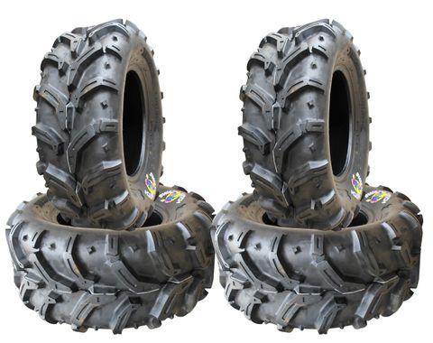 COMBO (2x ea) - 26/10-12 & 26/12-12 6PR D932 Deestone Swamp Witch ATV Tyres