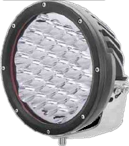 225w Pencil Beam LED Round Driving Light (Incl. Combo Cover)