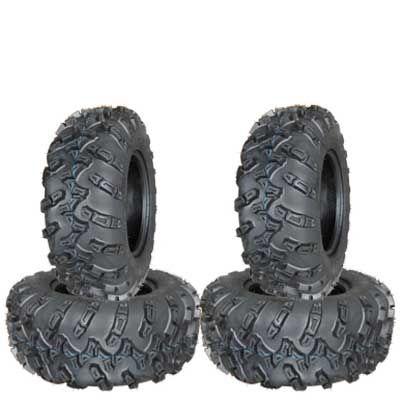 COMBO (2x ea) - 25/8R12 & 25/10R12 6PR TL OCEANUS Forerunner Radial ATV Tyres