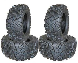 COMBO (2x ea) - 26/9-14 & 26/11-14 6PR TL ATLAS Forerunner UtilityGrip ATV Tyres