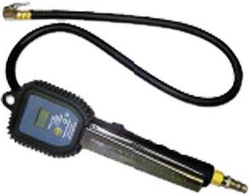 Digital Tyre Inflator with clip-on chuck