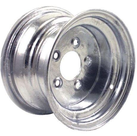 "10""x6.00"" Galvanised Rim, 5/4½"" (5/114.3mm) PCD, 71mm Bore, ET0 - Heavy Duty"