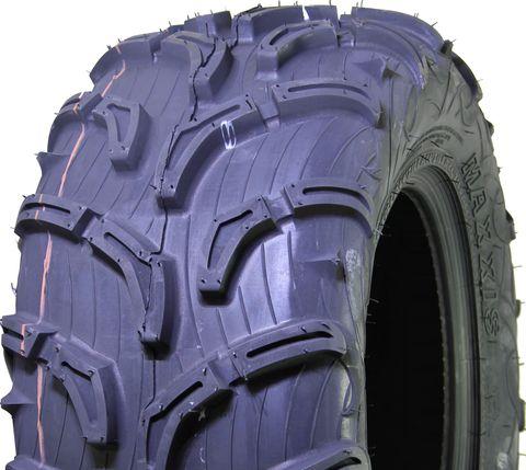 """ASSEMBLY - 12""""x8.50"""" Grey Kubota Rim, 4/110mm PCD, 25/10-12 MU02 Zilla Tyre"""