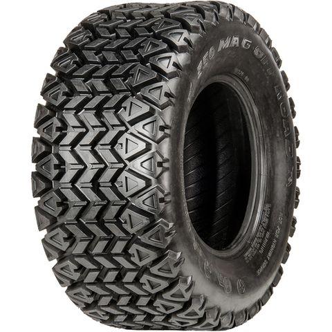 "ASSEMBLY - 12""x8.50"" Grey Kubota Rim, 4/110mm PCD, 25/10-12 6PR 350 MAG Tyre"