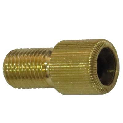 Brass Screw-on Bicycle Adaptor for HP Valve to Standard Valve