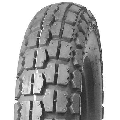 410/350-5 4PR TT UN231 Unilli Block Grey Wheelchair / Mobility Tyre