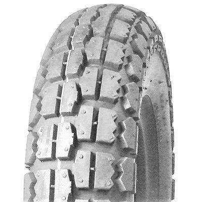 410/350-6 4PR TT UN231 Unilli Block Grey Wheelchair / Mobility Tyre