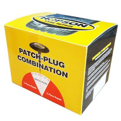 BOX OF 24 - Hopson 9mm Mushroom Repair Patch - MP-609