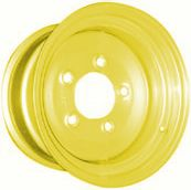 "12""x7.00"" Yellow Steel Rim, 5/140mm PCD, 94mm Bore, ET0"