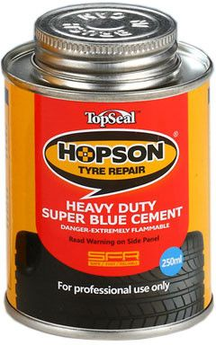 Hopson Heavy Duty Super Blue Cement (vulcanising glue), 250ml - TC-102B
