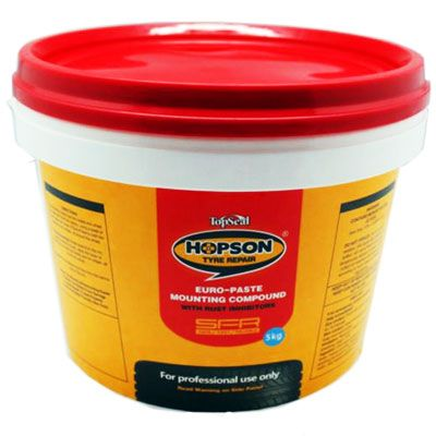 Hopson Tyre Mounting Paste (Wax) - White, 5Kg - TC-5013
