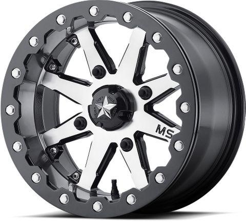"14""x7.00"" Alloy Rim, 4/110mm PCD, P0 M21 LOK, Beadlock Wheel, Yamaha YXZ1000R"