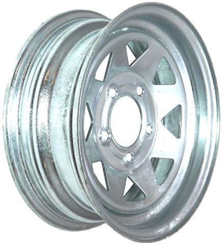 "13""x4.50"" Galvanised Rim, 5/4½"" (5/114.3mm) PCD, 83mm Bore, ET0"