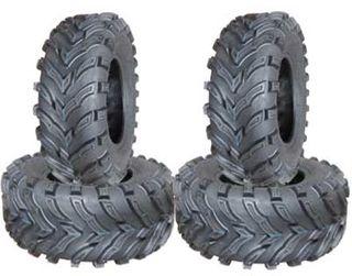COMBO (2x ea) - 24/8-12 & 24/9-11 6PR TL Forerunner Mars Directional ATV Tyres