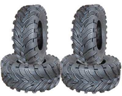 COMBO (2x ea) - 24/8-12 & 24/9-11 6PR TL MARS Forerunner Directional ATV Tyres