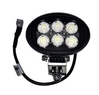 60W Flood Beam LED Oval Work Light