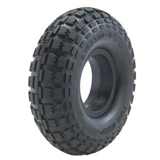 With 410/350-4 Solid PU Block Tyre