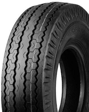 "ASSEMBLY - 9""x4.00"" Galvanised Rim, 4/4"" PCD, 600-9 6PR HF219 HS Highway Tyre"