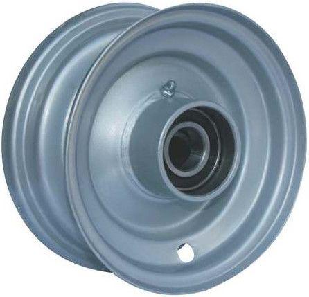 "5""x3.25"" Steel Rim, 47mm Bore, Hub Length 64mm, 25mm High Speed Bearings"