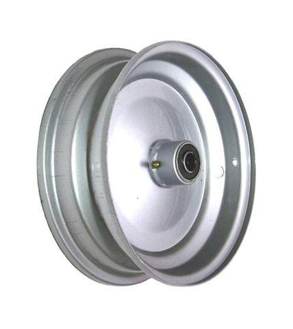 "6""x65mm Steel Rim, 35mm Bore, 82mm Hub Length, 35mm x 15mm High Speed Bearings"