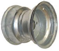 """10""""x8.00"""" Galvanised Rim, 4/4"""" (4/101.6mm) PCD, 71mm Bore, ET-12"""